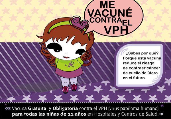 El 70% de las niñas de 11 años se vacunaron contra el VPH