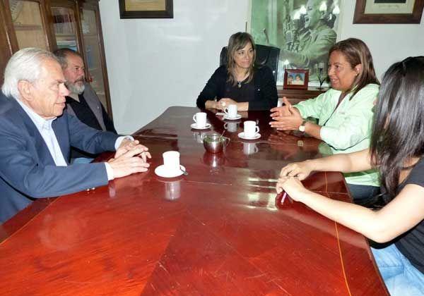 Bongiorno se reunió con Alvarado