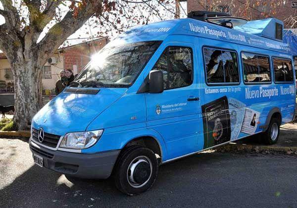 La Unidad móvil del RENAPER estará tres días más en Cipolletti