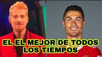 Liberman, de la tensión con Areválo por Messi a la chicana por CR7