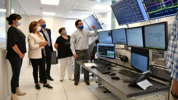 inauguraron un nuevo centro operativo de ypf en rio negro