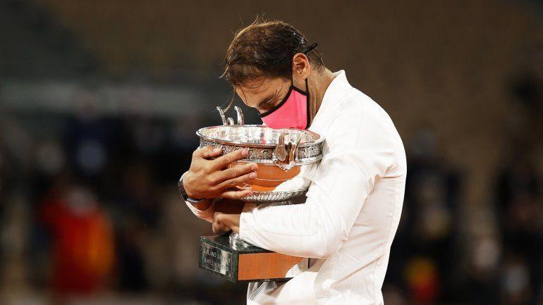 Conocé cuánta plata se llevó Rafael Nadal en el Roland Garros