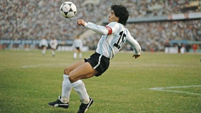 La estatua de Maradona que se inaugurará en la previa de Argentina-Chile