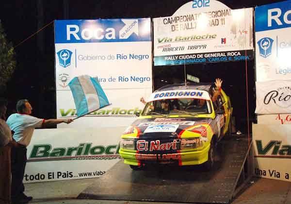 Largó la segunda del Rally con 11 máquinas locales
