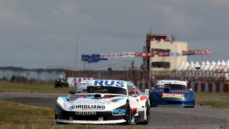 Jáuregui cambió de motor de la Chevy y avanzó en su serie