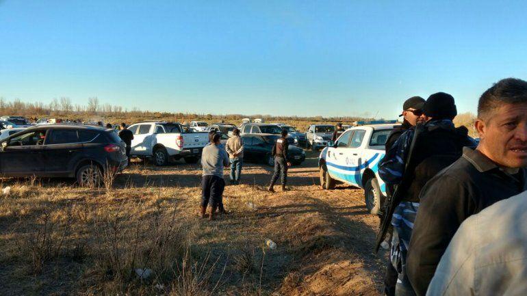 Desbarataron carreras clandestinas de galgos en la zona rural de Catriel