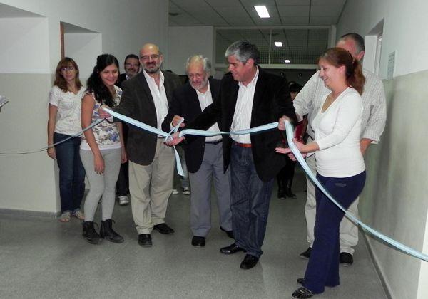 Fue inaugurada la ampliación del Instituto de Formación Docente de Luis Beltrán
