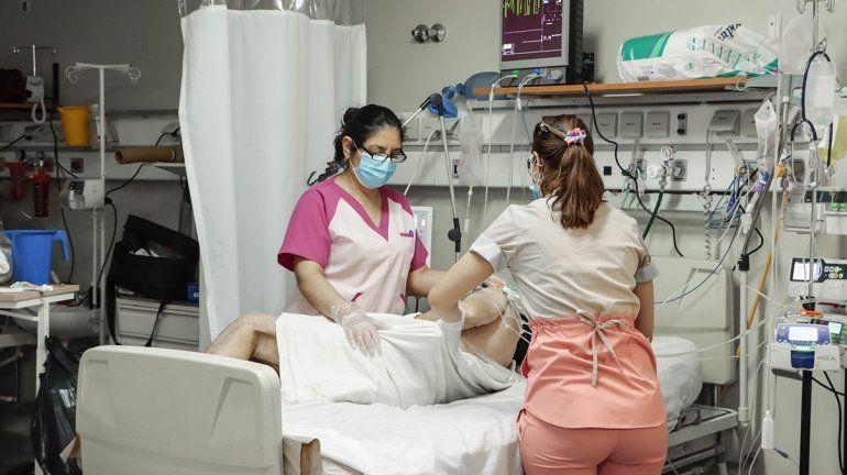 Uno de los pacientes que pudo negativizar la viremia.