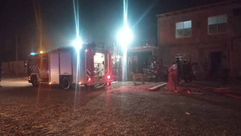 Cipoleños se salvaron de milagro tras un principio de incendio en su hogar