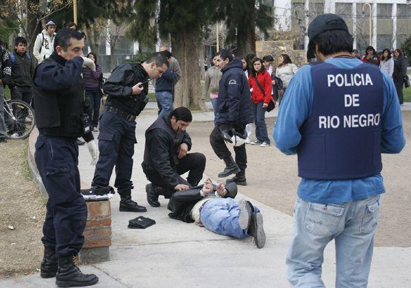 La policía desbarató un intento de robo