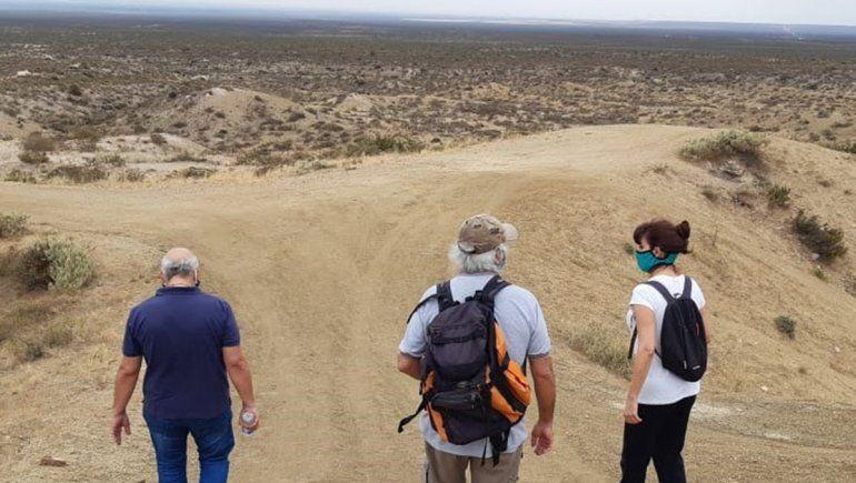 Buscan retomar el proyecto de creación del geoparque del Cerro Azul
