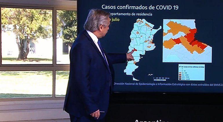 El Presidente anunció la vuelta a fase 1, pero Río Negro seguirá igual