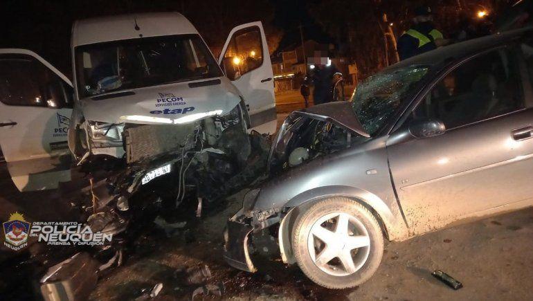 Un bebé de 6 meses murió en un choque sobre Ruta 7