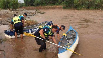 encontraron el cuerpo de un nene en el rio y creen que seria brian galvan