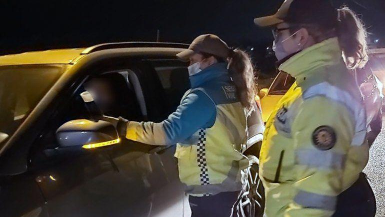 ¡Peligro al volante!: atraparon a 14 conductores borrachos