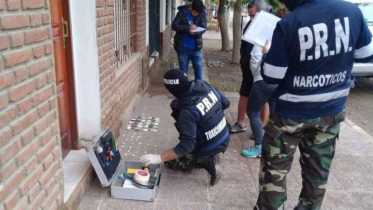 Cocaína y marihuana, las drogas más incautadas por la Policía en el Alto Valle rionegrino