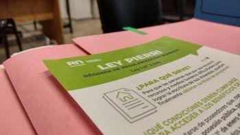 ley pierri: vecinos cipolenos ya se inscriben en el registro municipal