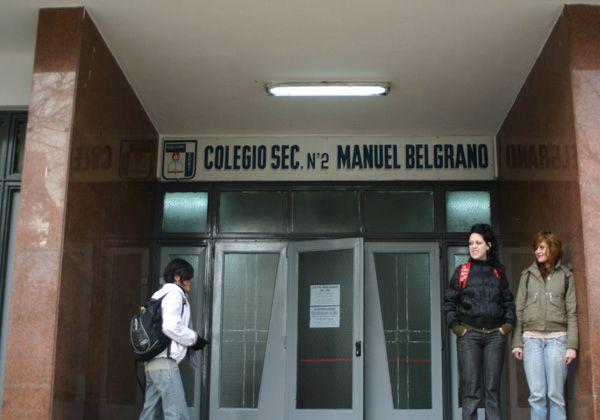 Sin clases en el Manuel Belgrano por falta de calefacción