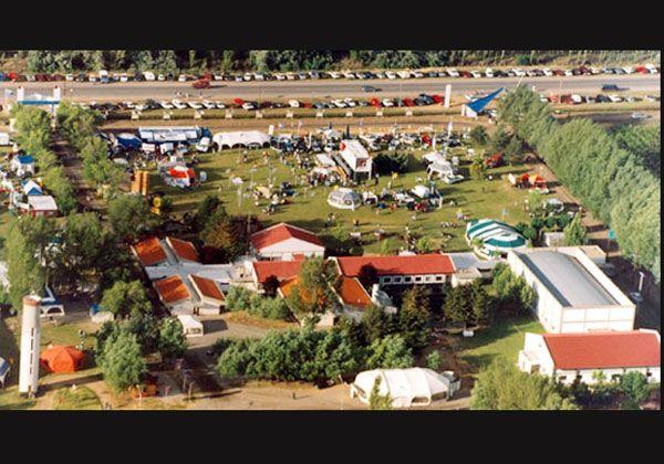 Preparativos para la Expofrutícola 2009