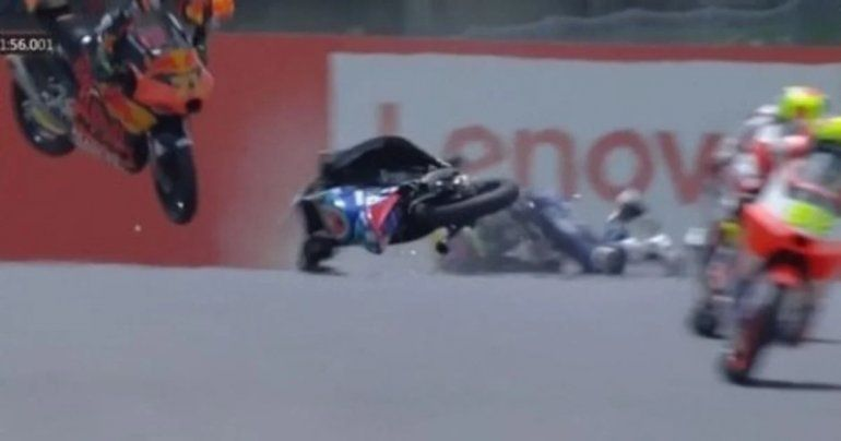Un joven piloto de motociclismo murió tras un brutal accidente