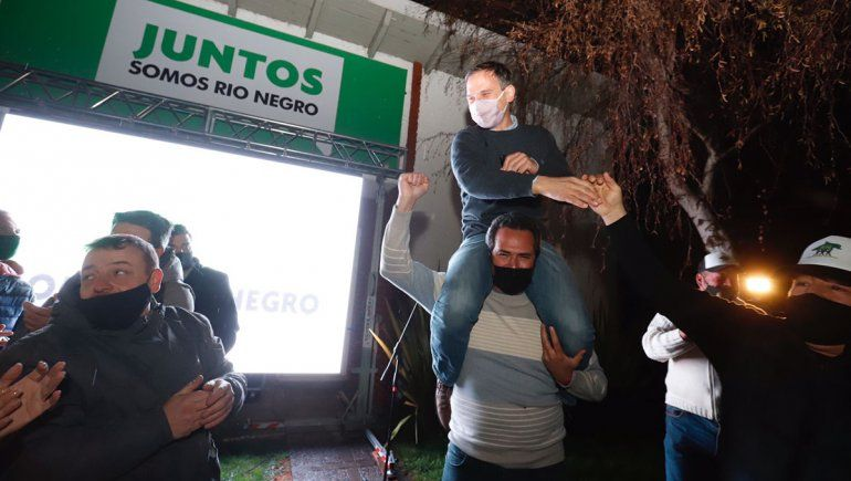 Ganó Juntos Somos Río Negro y Tortoriello sorprendió
