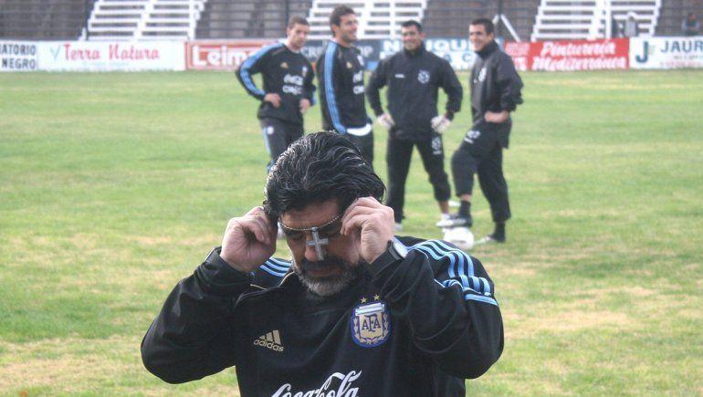 Un imperdible testimonio a diez años del último paso de Diego por la región