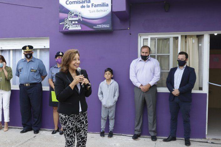 Carreras inauguró una nueva Comisaría de la Familia