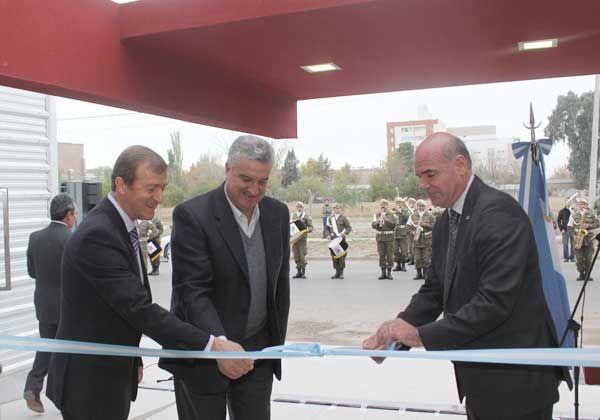 Transportistas inauguraron una moderna sede