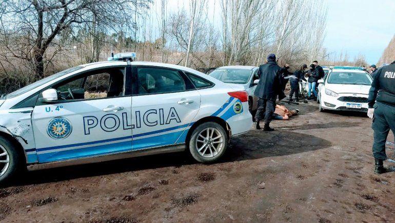 Ladrones de bicis fueron atrapados tras persecución