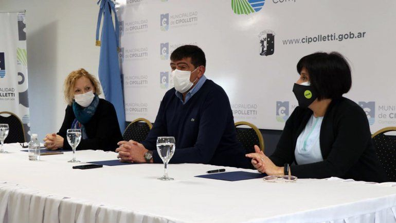 Firmaron convenio interinstitucional entre el Municipio de Cipolletti y el hospital