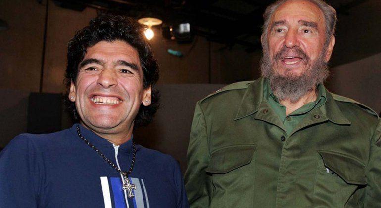 Maradona murió el mismo día que su amigo Fidel Castro