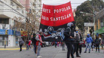 En el Frente Darío Santillán tienen previsto un plan de protestas hasta octubre. Reclaman lotes para familias humildes.