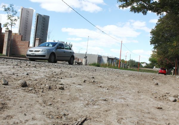 Buscan avanzar con el asfalto