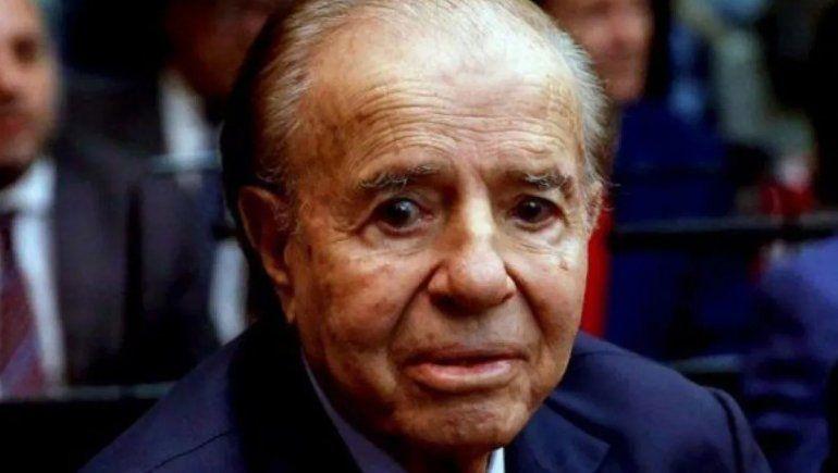 Se agravó la salud de Carlos Menem: está en coma