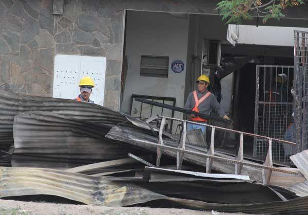Propietario del complejo de Villarino afirmó que el incendio fue intencional