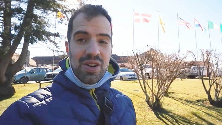 Martín Cirio pasó por Bariloche y ¡Criticó todo!