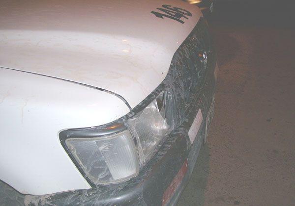 Atropelló a inspectora para evitar un control de tránsito