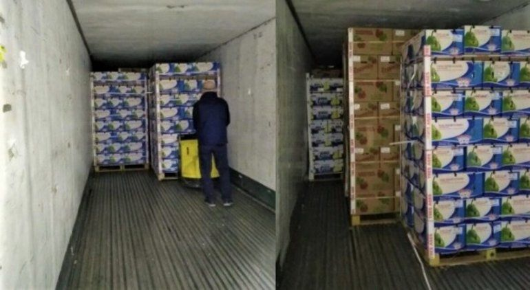 Donaron otro camión de frutas del valle para comedores