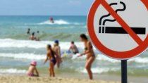 quieren playas libres de humo y de colillas de cigarrillos