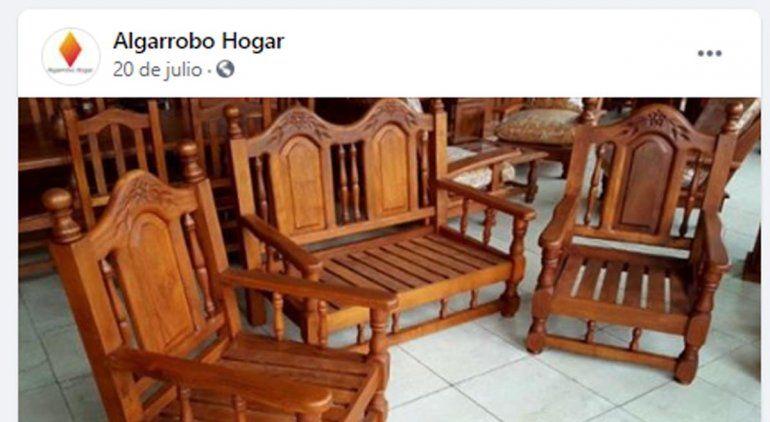 Familia cipoleña fue estafada en la compra online de muebles