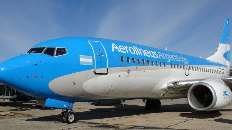 Aerolíneas Argentinas presentó protocolo para reanudación de vuelos regulares