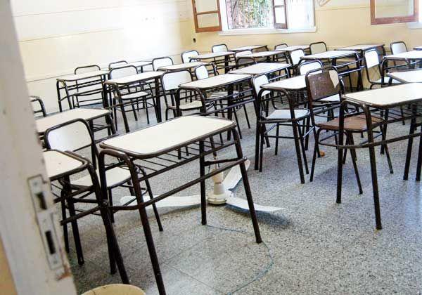 Se cayó un ventilador en el medio del aula e hirió a una nena de segundo grado