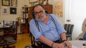 Lanata fue internado y espera el resultado del hisopado