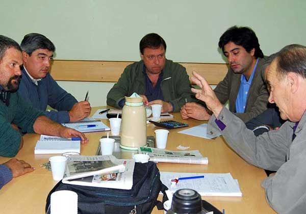 Weretilneck se reunió con la Federación de Productores