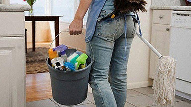 Empleo doméstico cierra paritaria del 50% anual