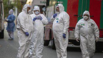 Argentina registró 311 muertes y 7.164 nuevos casos de coronavirus