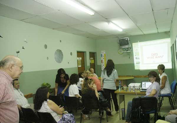Exposición de talleres de salud
