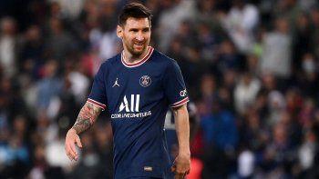 Messi quedó descartado para el próximo partido del PSG