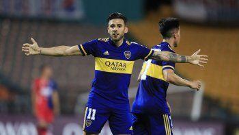 Con la vuelta de Salvio, Boca ya tiene el 11 para Brasil