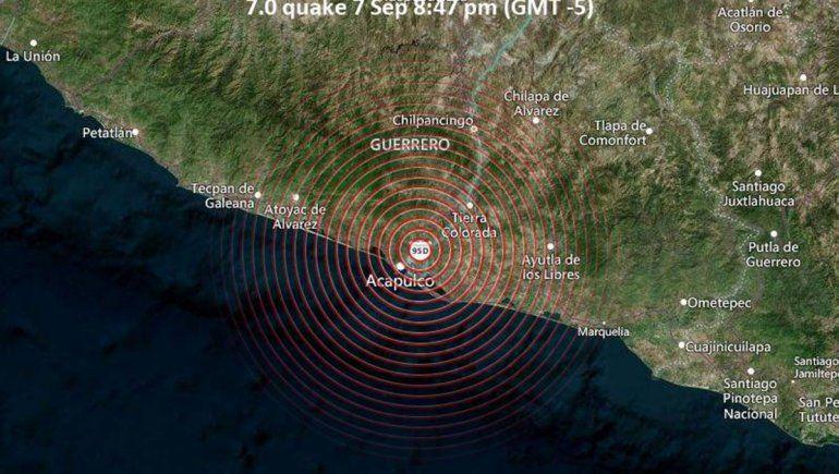Terremoto de 7,1 grados sacudió México